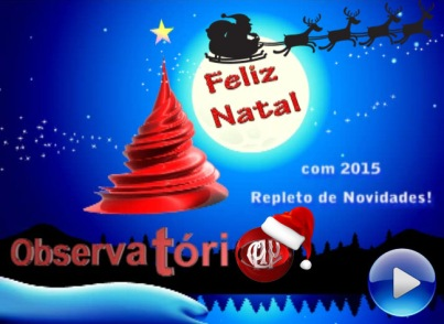 Feliz Natal ObservatorioCAP